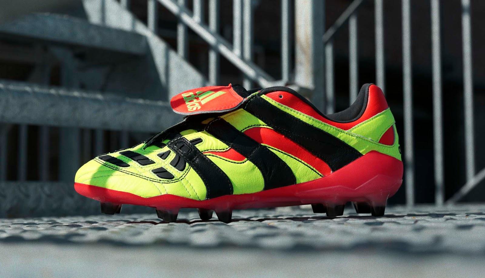 electricity adidas predator accelerator remake boots