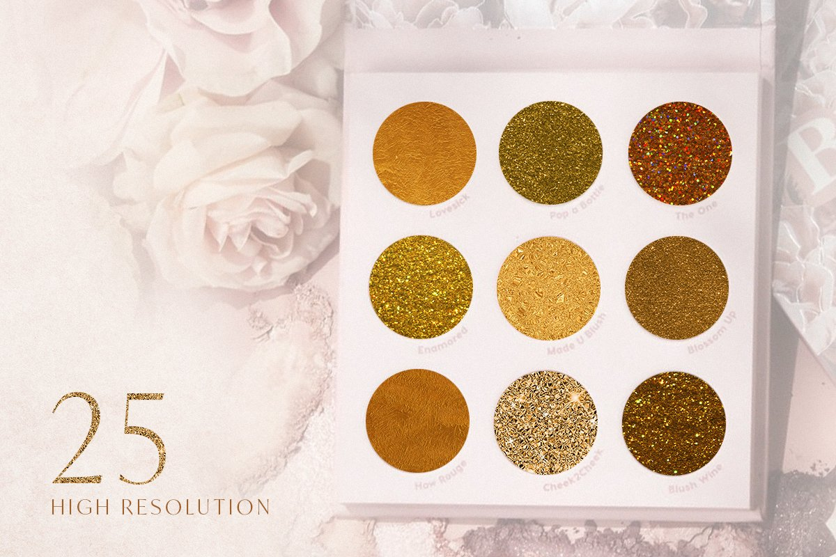 25 Golden Age Luxury Textures (JPG) - Ngcloudy.com