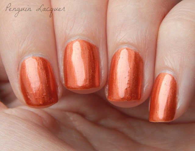 kiko smart fast dry lacquer 038 metallic copper nah