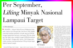 As of September, the National Oil Lifting Exceeds the Target