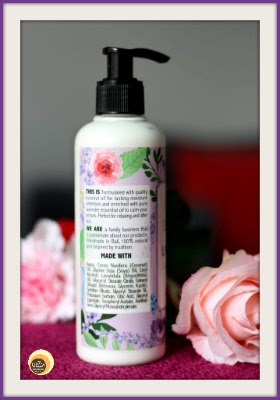 Utama Spice Lavender Coconut Body Lotion Review