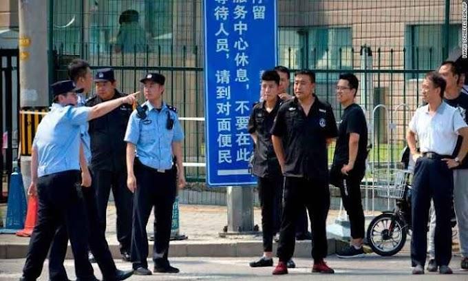 Man detonates explosives near Chinese city as four killed