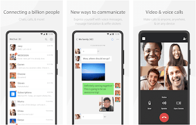 Aplikasi WeChat pengganti whatsapp