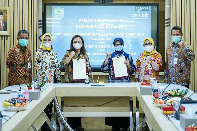 bank bjb-Pemkot Banjar Kolaborasi Hadirkan E-Retribusi di Pasar Tradisional