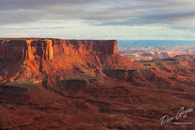 Murphy Point and Soda Springs Basin from the Green River Viewpoint in Canyonlands National Park, Utah.