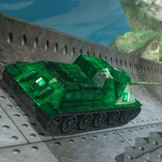 Impossible Parking: Army Tank