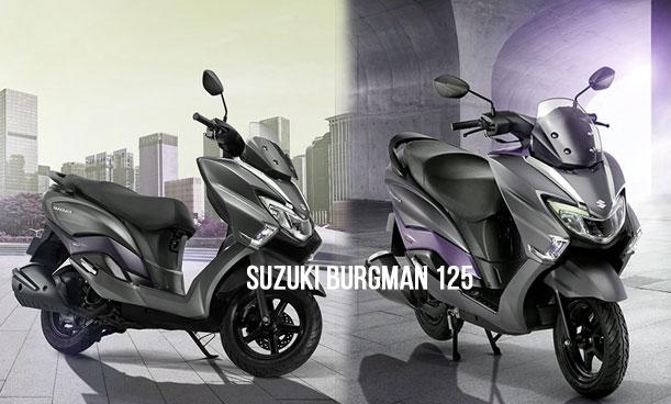 Suzuki Burgman 125 hadir di Indonesia