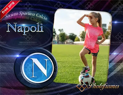 Marco para fotos del Napoli en png