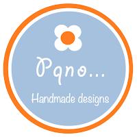 Logo redondo de Pqno... Handmade desings