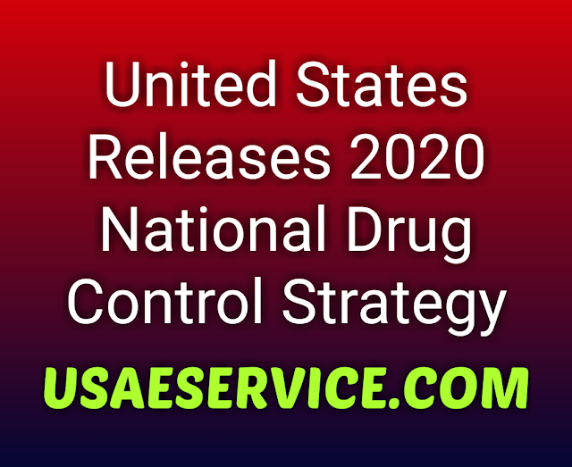 US White House National Drug Control Strategy