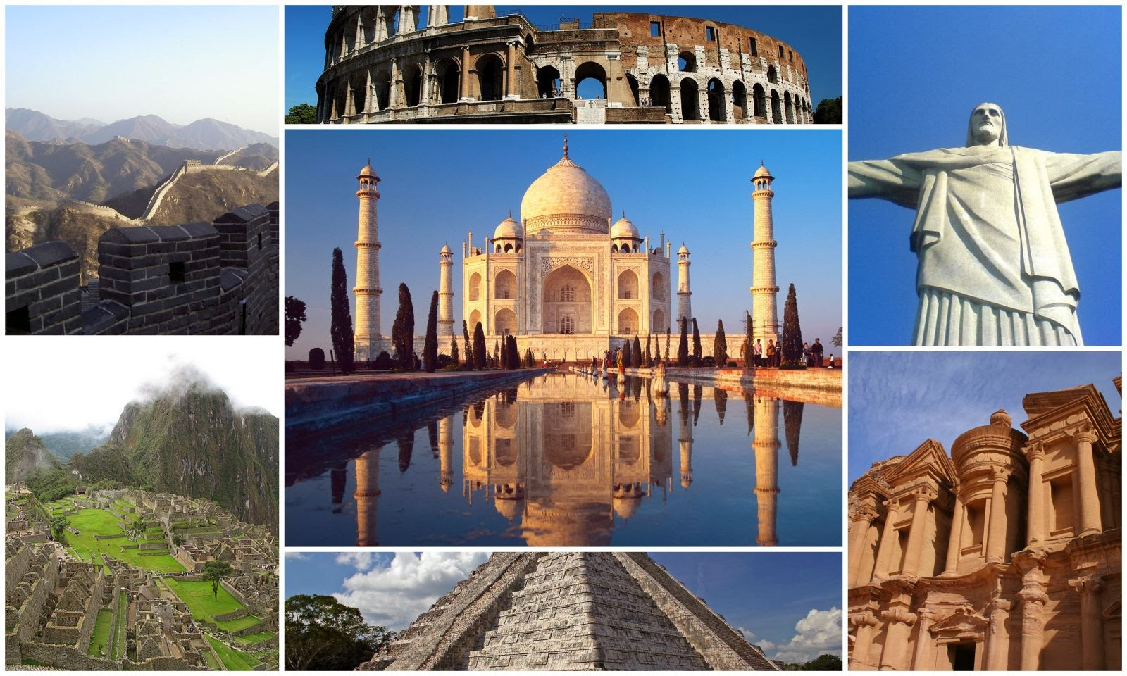 General Knowledge: List of 7 Wonders of this world for SSC CGL Tier-1 Exam