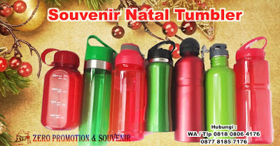 Souvenir Natal Tumbler - Untuk Acara Natal & sekolah minggu