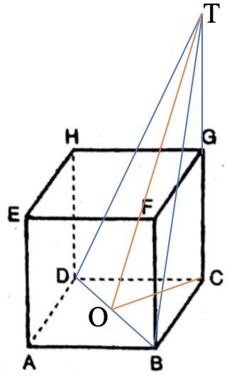 Diketahui kubus ABCD.EFGH dengan panjang rusuk 10 cm ...