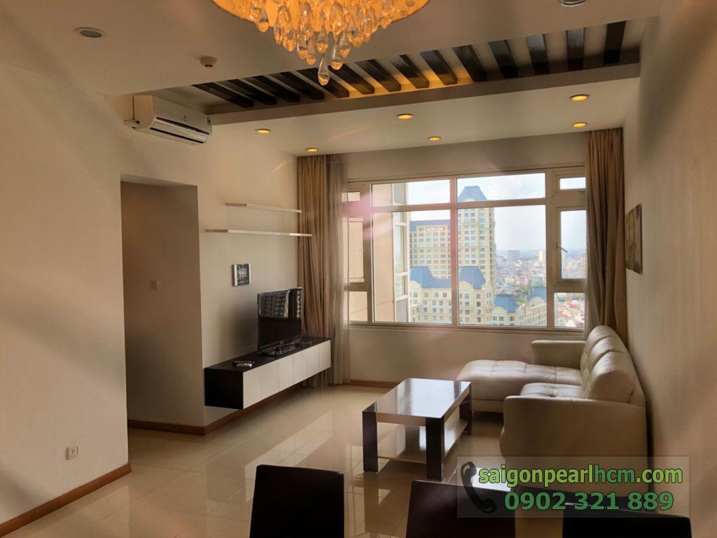 Saigon Pearl Sapphire 2 cho thuê căn hộ tầng 21 dt 92m2 giá thuê $800 - hình 2