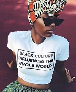 Black Culture Influences The Whole World shirt.  PYGear.com
