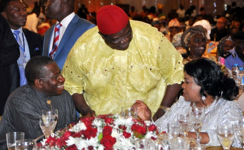 PIC+2+THANKSGIVING - PICTURES: Patience Jonathan's thanksgiving party