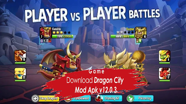Download Dragon City Mod Apk v12.0.3
