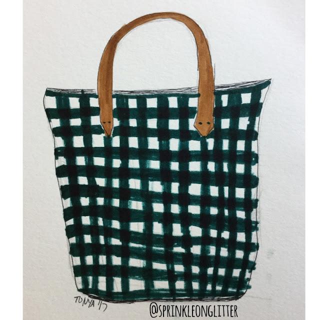 Sprinkle on Glitter Blog// 3 ways to wear gingham//bag