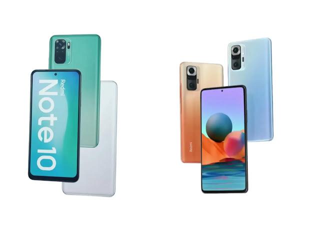 مواصفات ومميزات سلسلة هواتف شاومي الجديدة redmi note 10