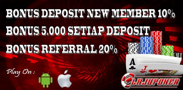 LajuPoker Situs Poker Freechip Indonesia