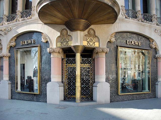 Loja Loewe em Barcelona