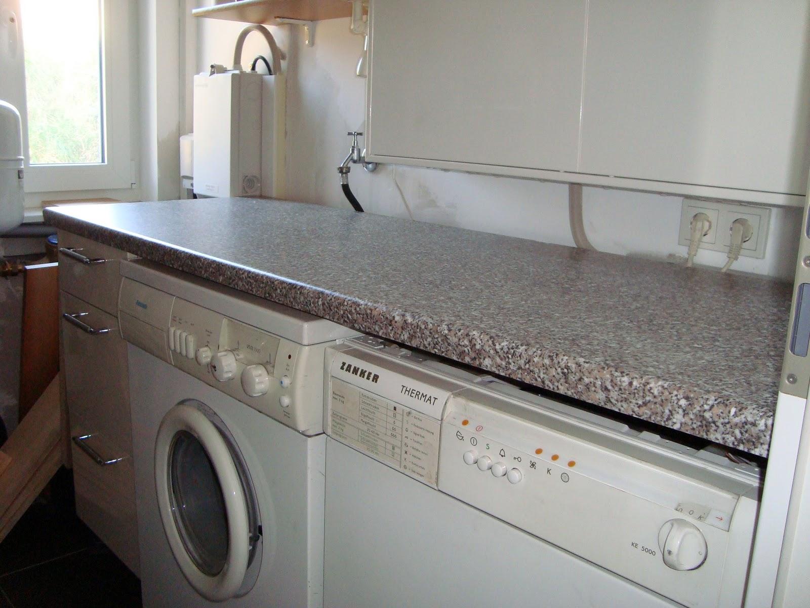 Waschmaschine In Die Küche Integrieren | Waschmaschine In Küche ...