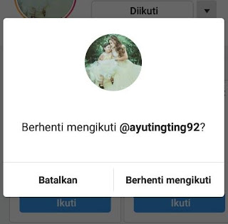 Unfollow akun cara menambah follower instagram