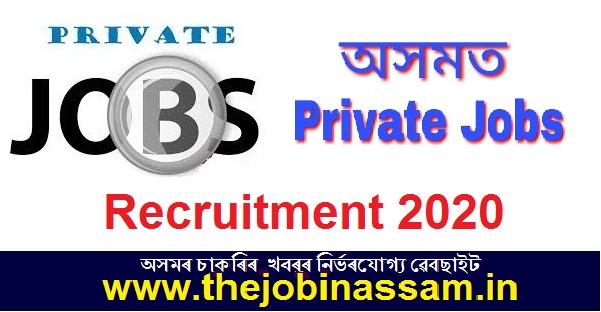 Private Job at Guwahati 2020