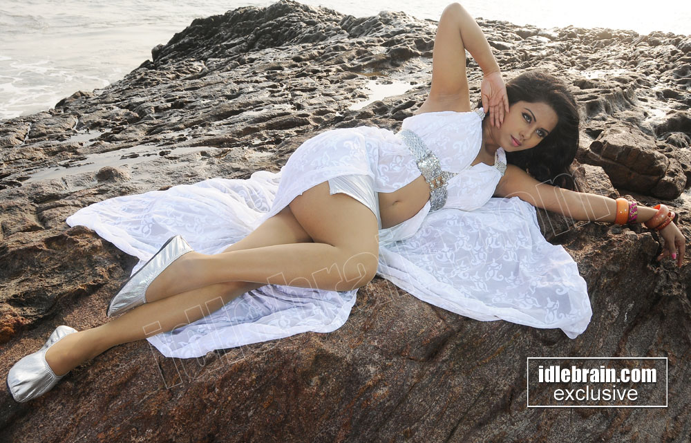 Rachana mourya hot photoshoot at beach