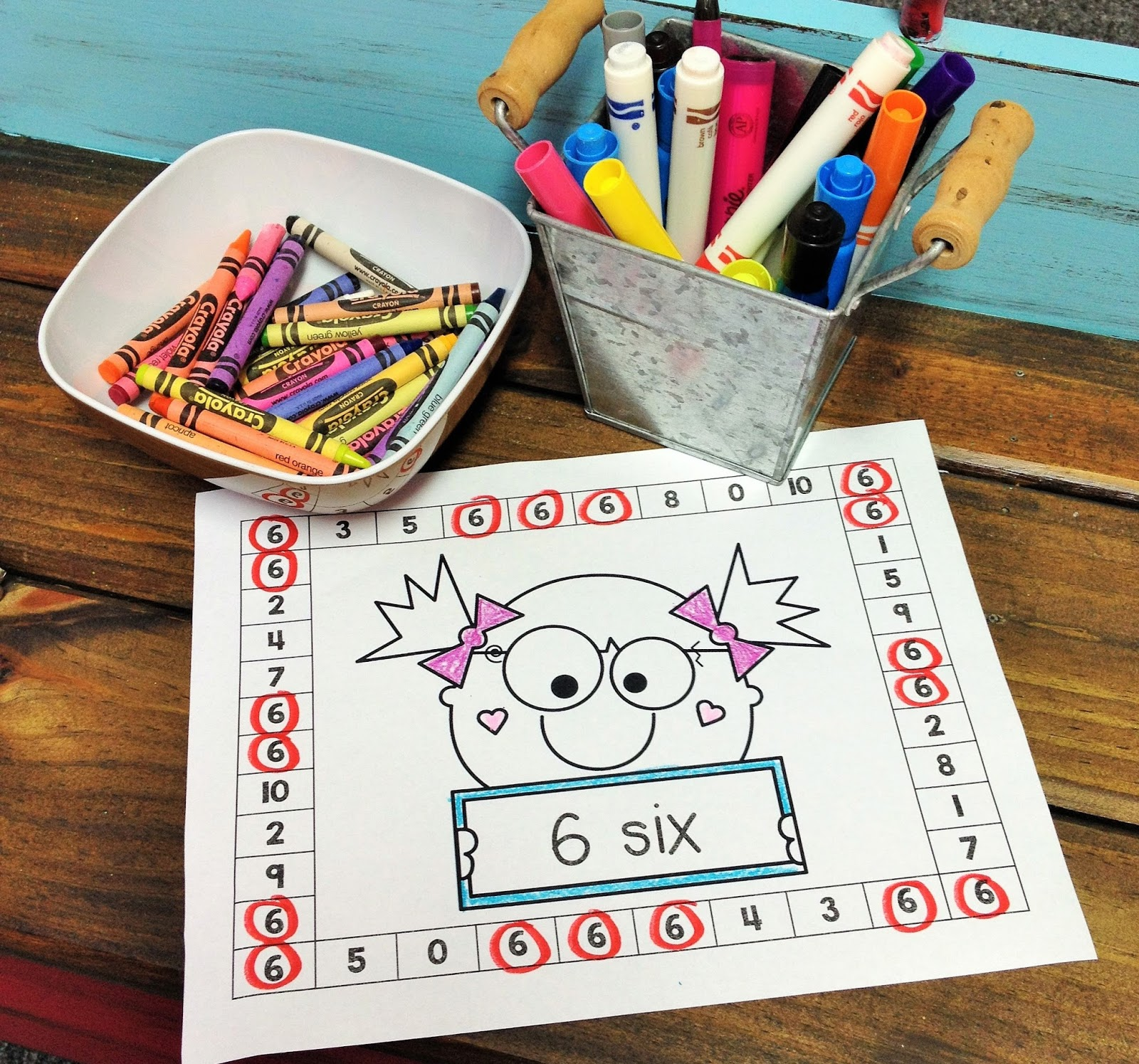 Doodle Bugs Teaching first grade rocks!: Punch Sheets ...