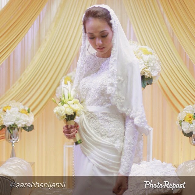 baju pengantin terkini 2015