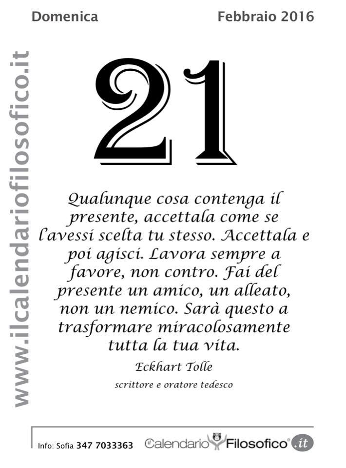 "Super Pensieri, Frasi celebri e non dal ""Calendario Filosofico"" - LIPARINET RH39"