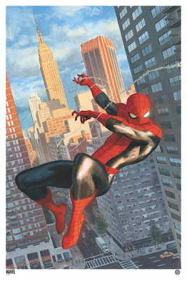 """Painted Works of the Marvel Universe"" Fine Art Prints by Paolo Rivera x Grey Matter Art"