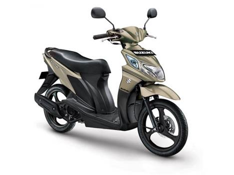 Harga dan Spesifikasi Lengkap Motor Suzuki Nex FI Terbaru 2017