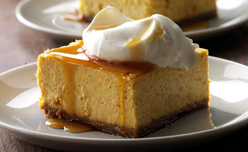 Pumpkin Cheesecake Dessert