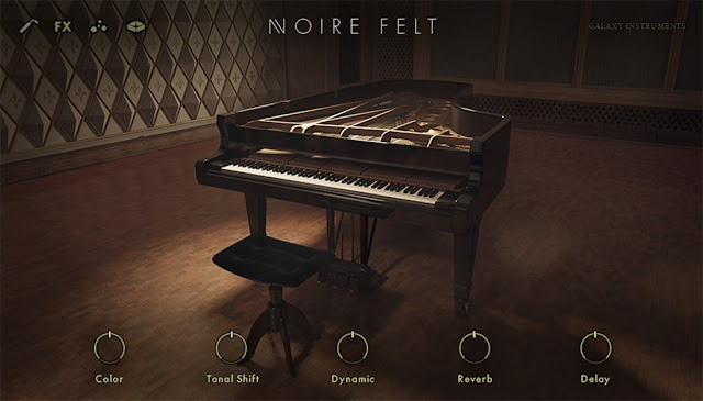 Interface Native Instruments - Noire (Kontakt)