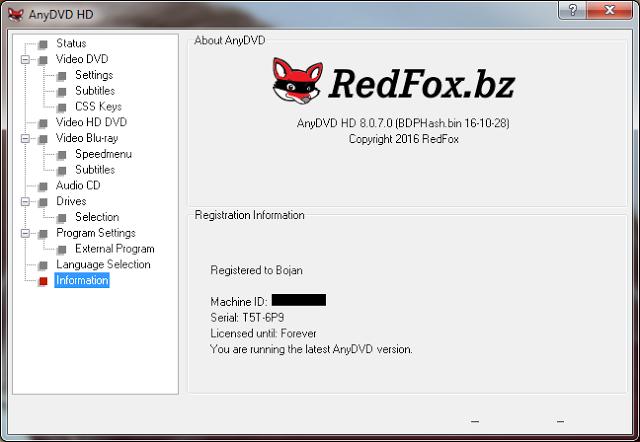 AnyDVD HD 8.0.8.0 Crack