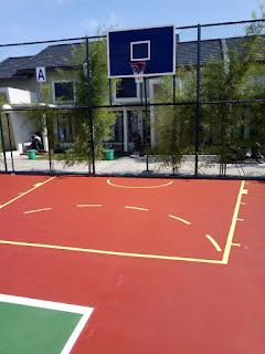 Pembuatan Lapangan Basket Outdor