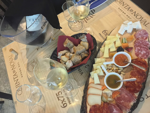 Lisbon Winery Cheese and Meat Platter