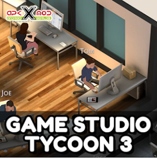 Download Gratis Game Studio Tycoon 3 MOD APK v1.3.2 Unlimited Money Full Version