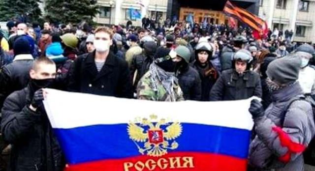 Проявления «русского мира» в Украине снова набирают обороты (Видео)