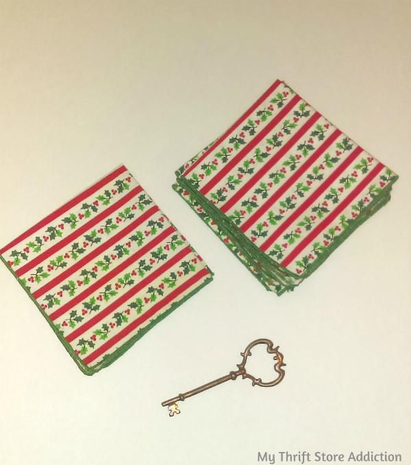 Christmas cocktail napkins