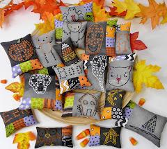 Halloween ornaments pattern