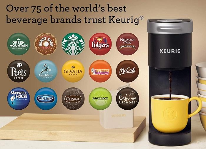 Keurig K-Mini - Slimmest Coffee Maker (under 5-inch wide)