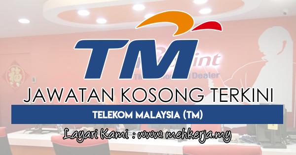 Jawatan Kosong Terkini 2018 di Telekom Malaysia (TM)