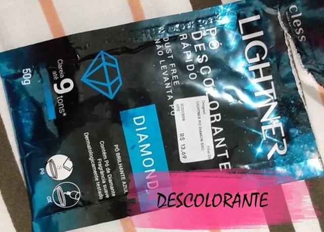 pacotinho de descolorante Lightner Diamond 50g