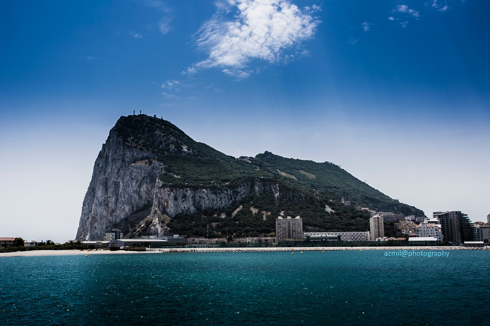 Around the Rock of Gibraltar and through the Pillars of Hercules we will go! Photo: Mohd Nor Azmil Abdul Rahman, Creative Commons license.