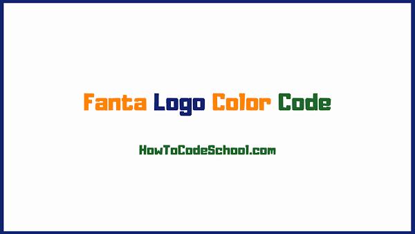 Fanta Logo Color Code