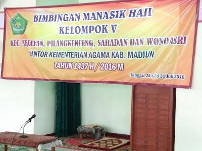 Bimbingan Manasik Haji Depag Madiun