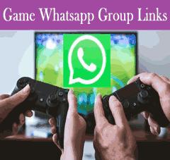 Game Whatsapp group link